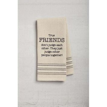 Friends Dishtowel
