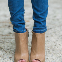 Country Mile Booties, Tan