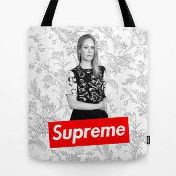 American Horror Story: The New Supreme Tote Bag by dan ron eli