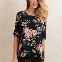 Addison Floral Blouse
