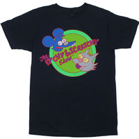 Itchy And Scratchy - Simpsons Sheer T-shirt - MyTeeSpot - Your T-shirt Store