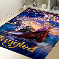 "New Arrival Disney Tangled Rapunzel Movie Blanket High Quality 58"" x 80"" Inch"
