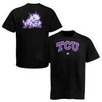 TCU Horned Frogs adidas Relentless T-Shirt – Black