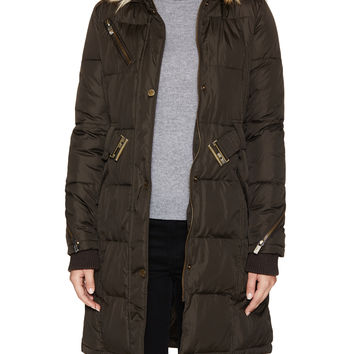 Rachel Rachel Roy Women's Cargo Zip Hood Jacket - Green -