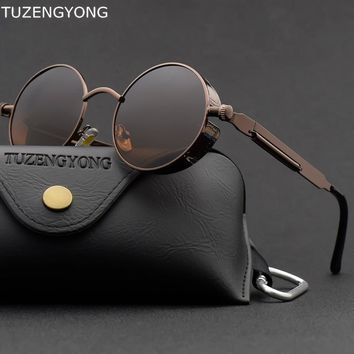 Classic Gothic Steampunk Sunglasses High Quality UV400