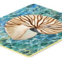 Sea Shell and Water Kitchen or Bath Mat 24x36 BB5368JCMT