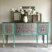 Hold For Maureen - Final Payment for Buffet - Painted Furniture - Upcycled Furniture - French Country - Repurposed Furniture - Farmhouse