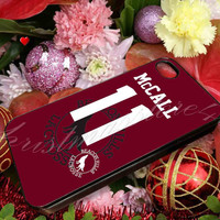 Teen Wolf McCALL 11 Lacrosse Jersey - for iPhone 4/4s, iPhone 5/5s/5c, Samsung S3 i9300, Samsung S4 i9500 Hard Case
