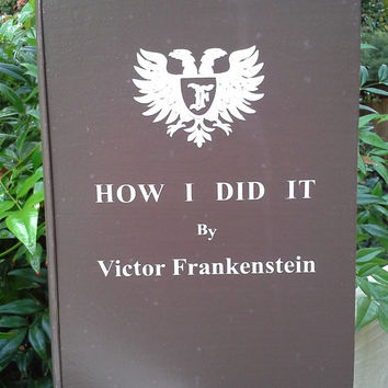"""Young Frankenstein  -  """"How I did It"""" -  wood stash box"""