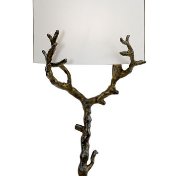 Arbre Bronze Wall Sconce