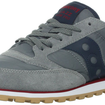 Saucony Originals Men's Jazz Low Pro Sneaker Charcoal/Red 11 D(M) US '