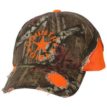 Women's Country Girl® Mossy Oak® Star Hat