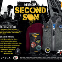 inFAMOUS: Second Son Collector's & Special Edition announcement
