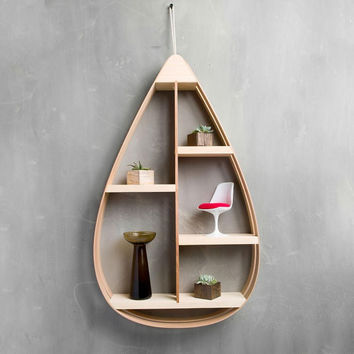 Mid-Century Teardrop Shelf