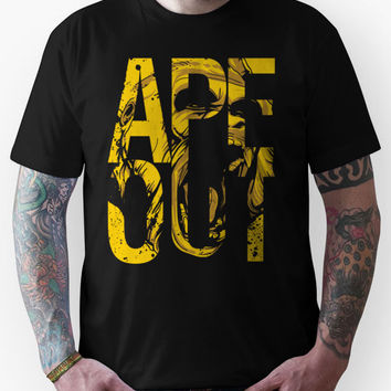 Discreetly Greek :: Alpha Phi Alpha :: APE OUT Unisex T-Shirt