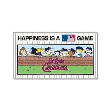 ST. LOUIS CARDINALS PEANUTS GANG HAPPINESS IS A GAME COLLECTOR PIN NEW WINCRAFT