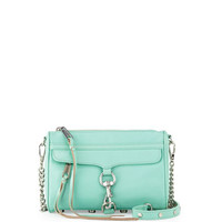 Rebecca Minkoff Mini MAC Crossbody Bag, Minty