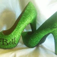 Disney Tinkerbell inspired Heels * *  * SIZES 3-8