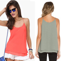 Two layers Tank Top Ladies