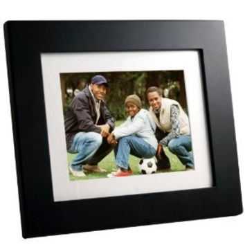Panimage PI8004W01 8-Inch Digital Picture Frame (Black)
