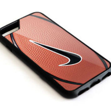 Nike_Basketball Logo Team Sport iPhone 6 6s 6+ and 6s+ Hard Plastic Cover Case