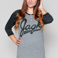Girls Jagk All-Stars Raglan  - Glamour Kills Clothing