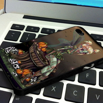 Tinkerbell Zombie iPhone 4 iPhone 4S Case