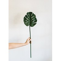 Artificial Monstera Leaves