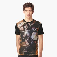 'League of Legends KAI`SA' Graphic T-Shirt by Naumovski