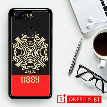 Obey Clothing O0726  OnePLus 5T / One Plus 5T Case