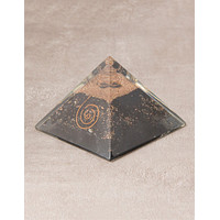 Orgone Black Tourmaline Pyramid - Large