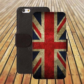 iphone 5 5s case British flag iphone 4/ 4s iPhone 6 6 Plus iphone 5C Wallet Case , iPhone 5 Case, Cover, Cases colorful pattern L096