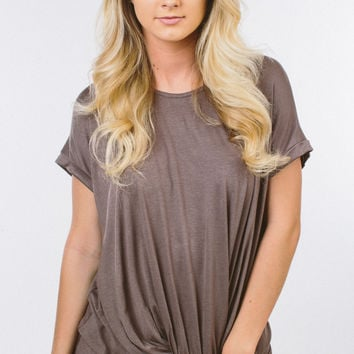 Easy To Love Top - Taupe