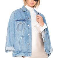 AGOLDE Jessie Denim Jacket in Brooklyn | REVOLVE