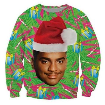 FEATURE PRODUCT: Fresh Prince of Bel-Air 2018 Christmas Sweatshirt Gift