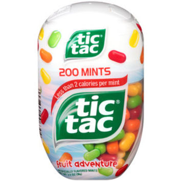 Walmart: Tic Tac Fruit Adventure Mints, 200 count, 3.4 oz