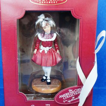 2002 Samantha Hallmark American Girls Collection Ornament