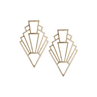 Triangle Drop Earrings - Jewelry - Bags & Accessories - Topshop USA