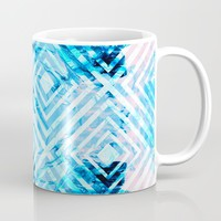 Abstract Liquid Paint Pattern Coffee Mug by tmarchev