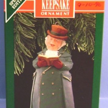 1990 Mr. Ashbourne Hallmark Special Edition Bell Retired Ornament