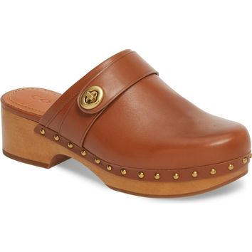 COACH Turnlock Clog (Women) | Nordstrom