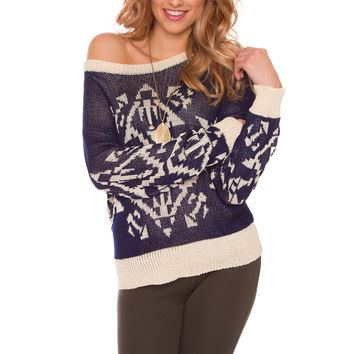 Your Best Sweater - Navy