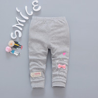 New 2017 Spring Autumn Baby Girls sweet 5color Leggings