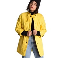 Vintage 1960s Yellow Trench Coat