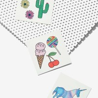 Nasty Gal x Inked by Dani Desert Dreams Temporary Tattoo Set