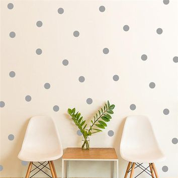 20pcs 54pcs Mini Polka Dots Wall Sticker Nursery Kids Rooms Children Wall Decals Refrigerator Home Decor DIY Art Wall Decoration