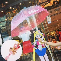*Free Shipping*[Reservation] Sailor Moon Magical Stick Umbrella SP1711420