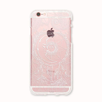 Clear iPhone 6 case, iPhone 6s case, iPhone 6 plus case, iPhone 6s plus case, iPhone 5S Case, iPhone SE Case, Galaxy S7 Case - Day and Night
