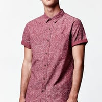 On The Byas Wayne Speckled Short Sleeve Button Up Shirt at PacSun.com