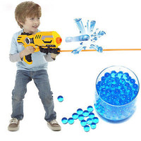New Kids Water Toy Gun Water Bullet Balls Crystal Soft Bullets 3000Pcs/15bag